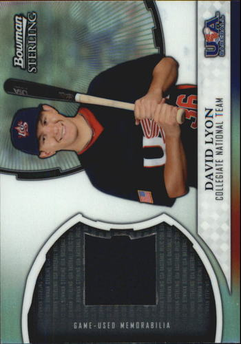 Photo of 2011 Bowman Sterling USA Baseball Relics #DL David Lyon