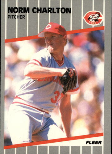 Photo of 1989 Fleer Glossy #155 Norm Charlton