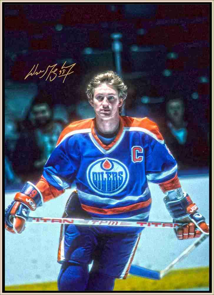 Wayne Gretzky Signed 24x35