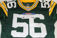 STS - PACKERS JULIUS PEPPERS GAME WORN PACKERS JERSEY (NOVEMBER 15 2015)
