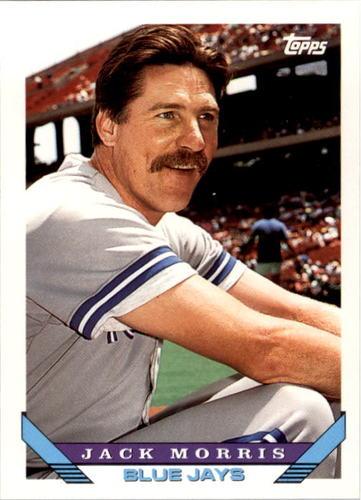 Photo of 1993 Topps #185 Jack Morris