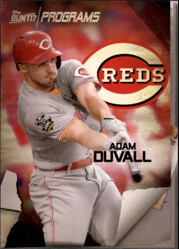 Photo of 2017 Topps Bunt Programs #PRADU Adam Duvall