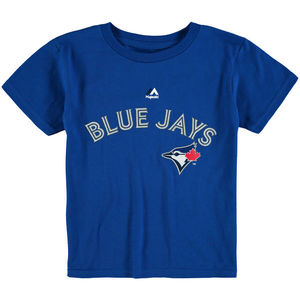 Toronto Blue Jays Toddler Wormark T-Shirt by Majestic