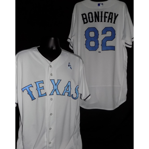 Photo of Josh Bonifay 2017 Game-Used Father's Day Jersey