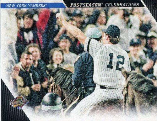 Photo of 2017 Topps Update Postseason Celebration #PC16 New York Yankees