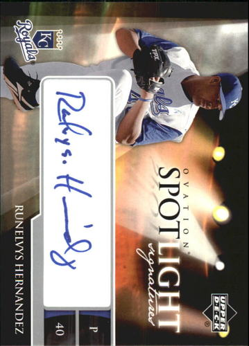 Photo of 2006 Upper Deck Ovation Spotlight Signatures #RH Runelvys Hernandez