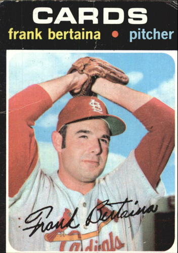 Photo of 1971 Topps #422 Frank Bertaina