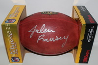 NFL - JAGUARS JALEN RAMSEY SIGNED AUTHENTIC FOOTBALL