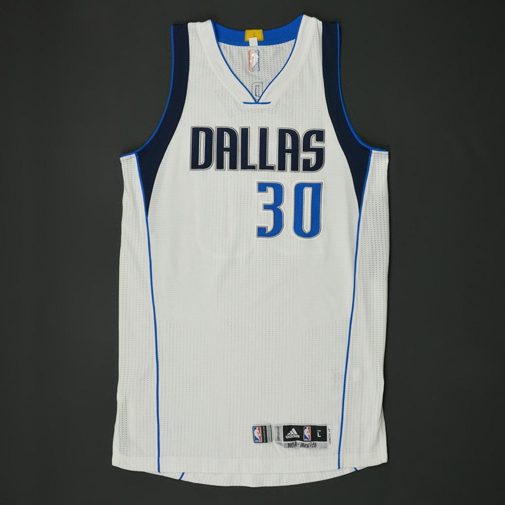 Seth Curry - Dallas Mavericks - NBA Global Games 2017 Mexico City - Game-Worn Jersey