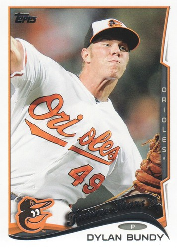 Photo of 2014 Topps #531A Dylan Bundy