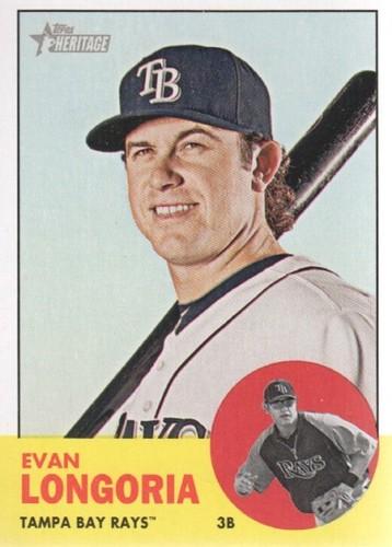 Photo of 2012 Topps Heritage #177A Evan Longoria