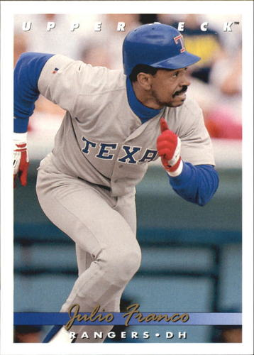 Photo of 1993 Upper Deck Gold Hologram #656 Julio Franco
