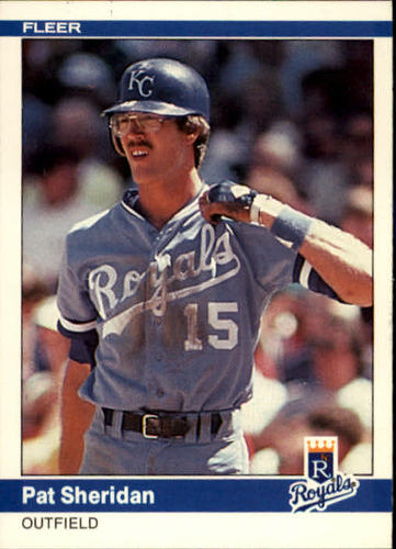 Photo of 1984 Fleer #357 Pat Sheridan