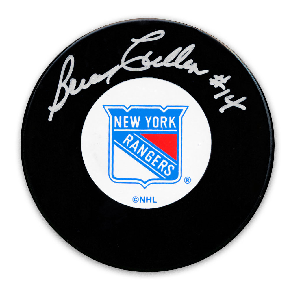 Brian Cullen New York Rangers Autographed Puck