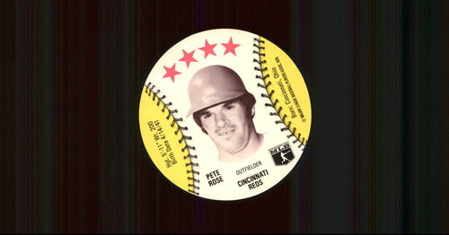 Photo of 1976 Isaly Discs #51 Pete Rose