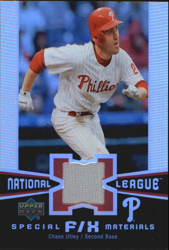 Photo of 2006 Upper Deck Special F/X Materials #CU Chase Utley Jsy