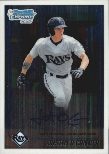 Photo of 2010 Bowman Chrome Draft Prospect Autographs #BDPP69 Justin O'Conner