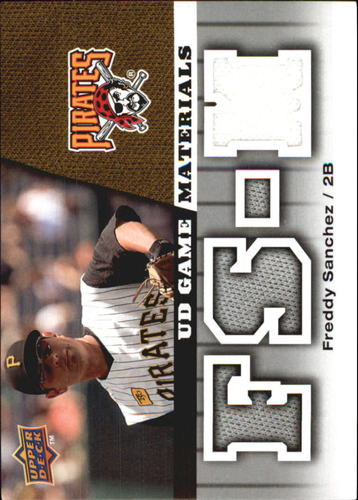 Photo of 2009 Upper Deck UD Game Materials #GMFS Freddy Sanchez