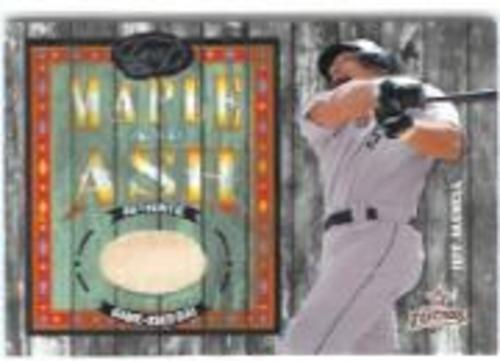Photo of 2003 Leaf Maple and Ash #4 Jeff Bagwell