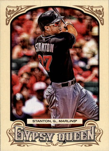 Photo of 2014 Topps Gypsy Queen #165 Giancarlo Stanton