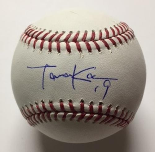 Masahiro Tanaka Autographed Baseball