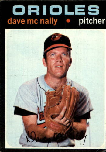 Photo of 1971 Topps #320 Dave McNally