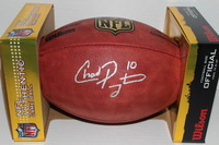 NFL - JETS CHAD PENNINGTON SIGNED AUTHENTIC FOOTBALL