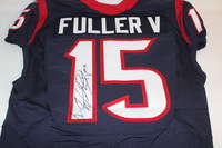 STS - TEXANS WILL FULLER GAME WORN AND SIGNED TEXANS JERSEY (OCTOBER 30 2016)
