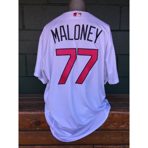 Cardinals Authentics: Chris Maloney Game Worn Mother's Day Jersey