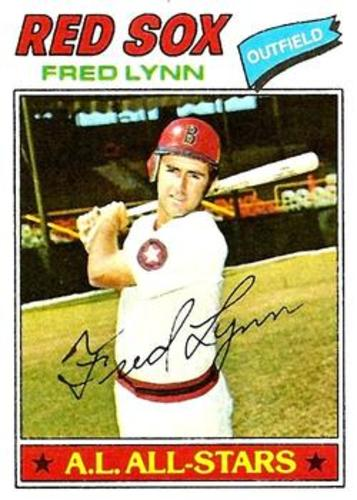Photo of 1977 Topps #210 Fred Lynn