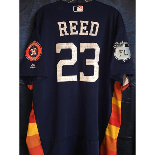 Photo of #23 A.J. Reed Team-Issued 2017 Spring Training Jersey