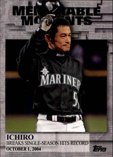 Photo of 2017 Topps Memorable Moments #MM45 Ichiro