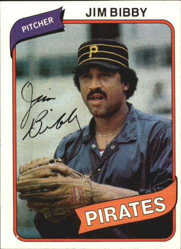Photo of 1980 Topps #229 Jim Bibby