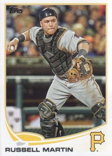 Photo of 2013 Topps Update #US203 Russell Martin