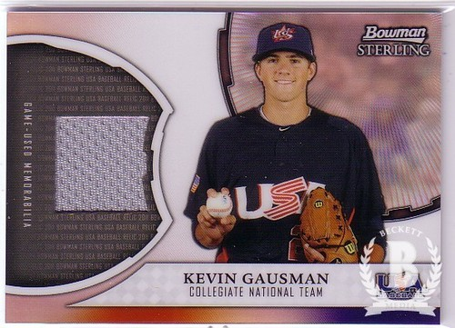 Photo of 2011 Bowman Sterling USA Baseball Relics #KG Kevin Gausman