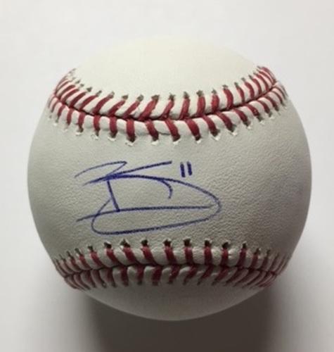 Brett Gardner Autographed Baseball