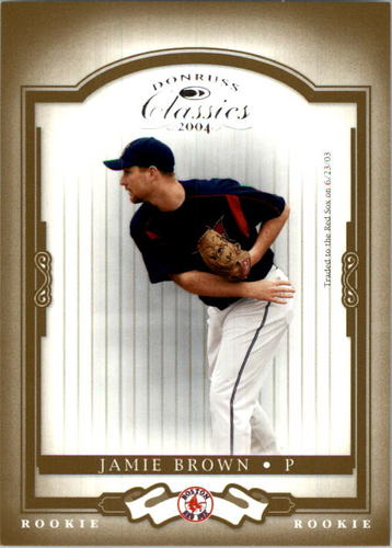 Photo of 2004 Donruss Classics #203 Jamie Brown ROO RC