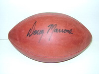 BILLS - DOUG MARRONE SIGNED AUTHENTIC FOOTBALL