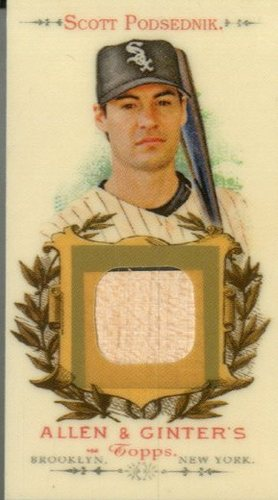 Photo of 2007 Topps Allen and Ginter Relics #SP Scott Podsednik Bat G