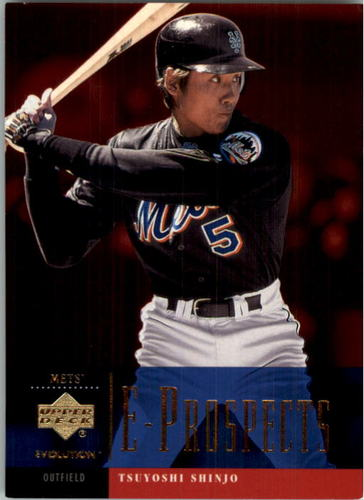 Photo of 2001 Upper Deck Evolution #98 Tsuyoshi Shinjo PROS RC