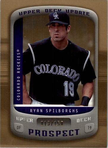 Photo of 2005 Upper Deck Update Gold #177 Ryan Spilborghs PR