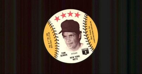 Photo of 1976 Isaly Discs #55 Tom Seaver