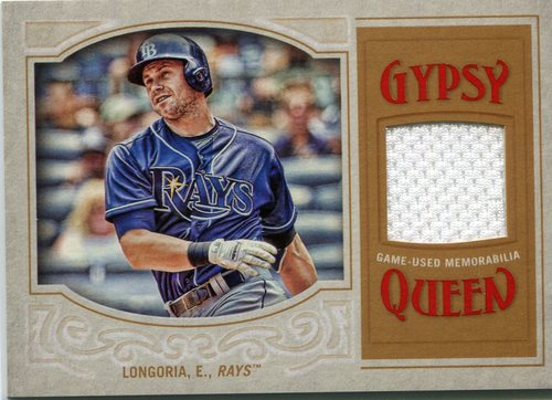 Photo of 2016 Topps Gypsy Queen Relics Evan Longoria game-worn jersey