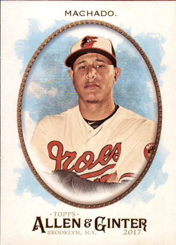 Photo of 2017 Topps Allen and Ginter #204 Manny Machado