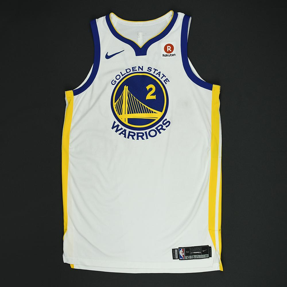Jordan Bell - Golden State Warriors - NBA Christmas Day '17 Game-Worn Jersey