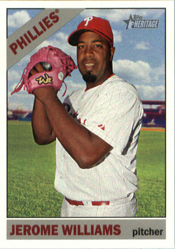 Photo of 2015 Topps Heritage #588 Jerome Williams
