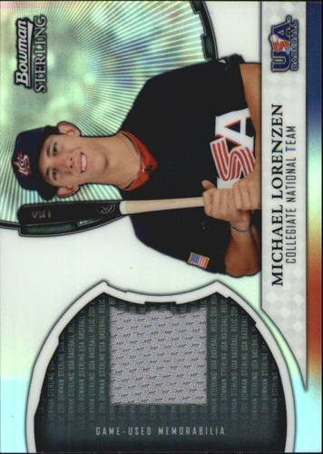 Photo of 2011 Bowman Sterling USA Baseball Relics #ML Michael Lorenzen