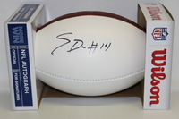 NFL - VIKINGS STEFON DIGGS SIGNED PANEL BALL