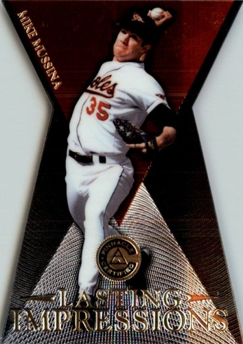 Photo of 1997 Pinnacle Certified Lasting Impressions #20 Mike Mussina