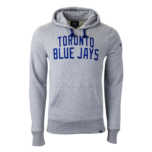Toronto Blue Jays Gamebreak Headline Hoody Grey by '47 Brand